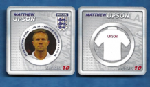 England Matthew Upson West Ham United 10 (E)